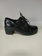 Туфли женские закрытые на каблуках, фото 1