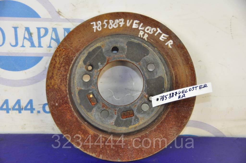 Диск гальмівний задній HYUNDAI Veloster 11-18