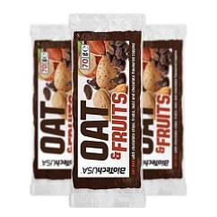 Фитнес батончик BioTech OAT and Fruits (70 г) биотеч chocolate chips