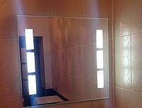 Зеркало для ванны с подсветкой влагостойкое 800 х 650