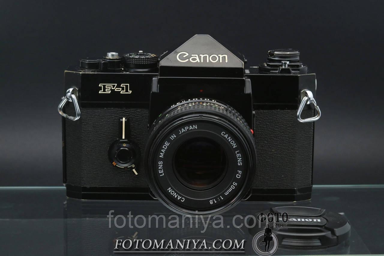 Canon F-1 kit Canon nFD 50mm f1.8