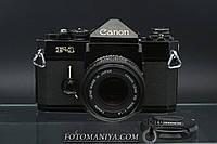 Canon F-1 kit Canon nFD 50mm f1.8, фото 1