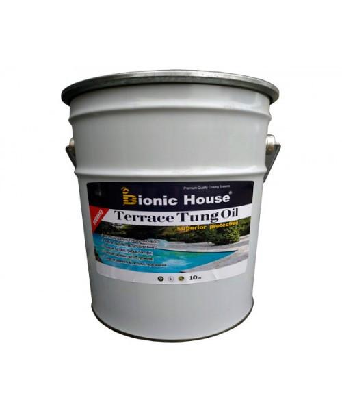 Масло террасное тунговое «Terrace Tung oil» Bionic House (Бионик Хаус) 10 л