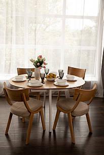 Обідній комплект: стіл Марс і стільці Диран Pavlyk ™
