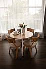 Обідній комплект: стіл Марс і стільці Диран Pavlyk ™, фото 2