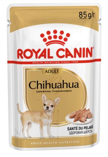 Влажный корм для собак породы чихуа хуа