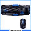 Беспроводная игровая клавиатура с мышью HK-8100, фото 3