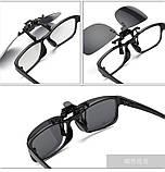 Накладка на окуляри Polarized / Окуляри антиблікові Код:6820, фото 5