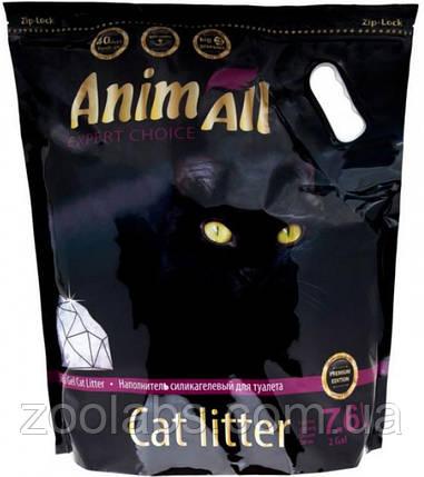 Наполнители для туалета Энимолл   AnimAll Кристаллы аметиста силикагелевый наполнитель 7.6 л, фото 2