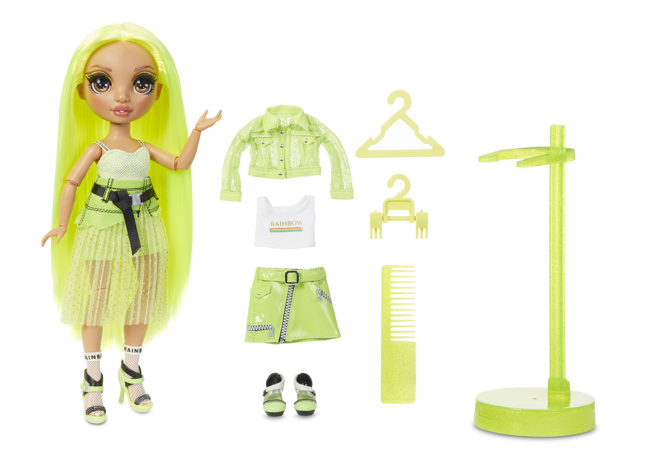 Кукла Рейнбоу Хай серия 2 Карма Никольс Rainbow High S2  Karma Nichols Fashion Doll 572343