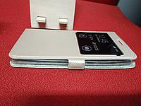Чехол книжка для Xiaomi Redmi Note 4x 1 окно Imperium Case золотой