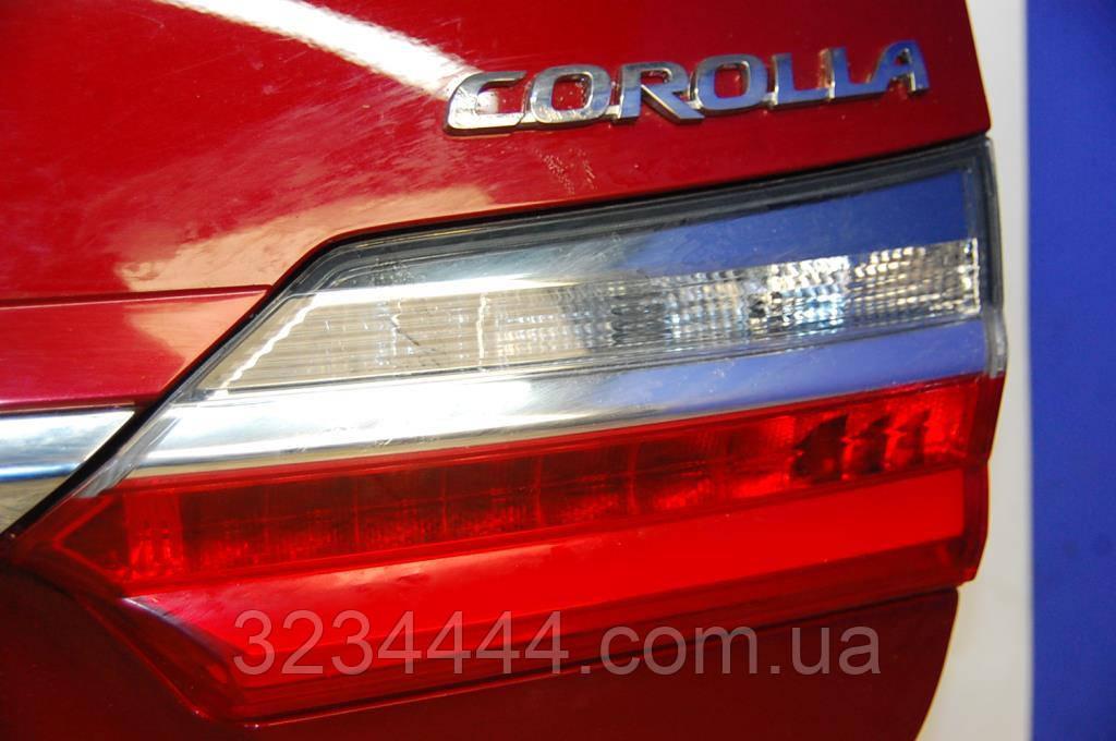 Ліхтар кришки багажника RH TOYOTA COROLLA E16 13-
