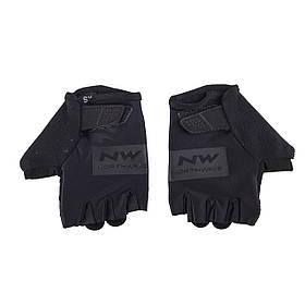 Велоперчатки NorthWave Flag р.L Short gloves черный