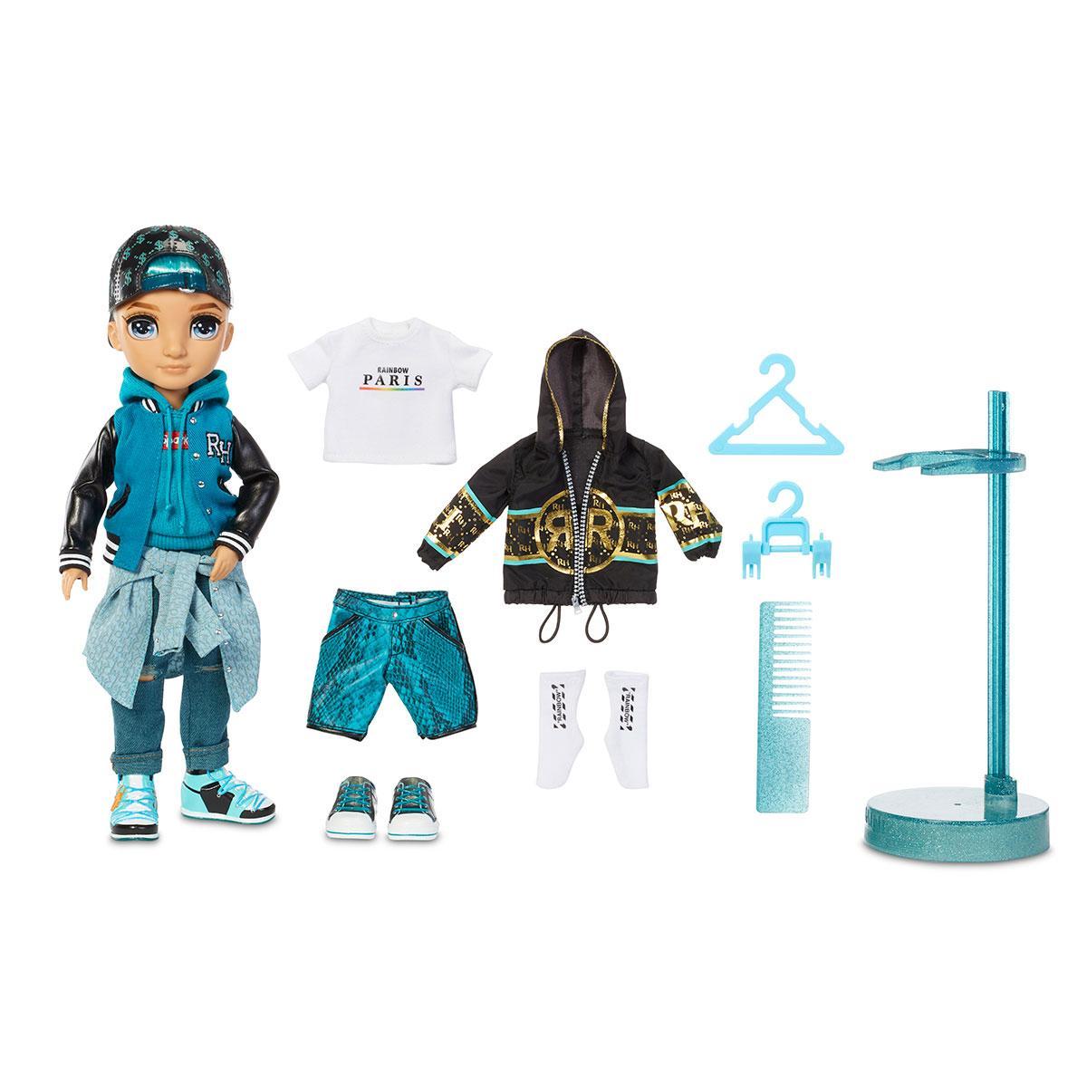 Кукла Рейнбоу Хай серия 2 Ривер Кендалл Rainbow High S2 River Kendall Fashion Doll 572145