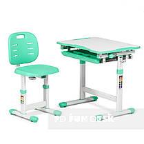 Комплект парта + стул трансформеры Piccolino III Green FunDesk, фото 2