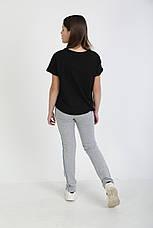 Спортивные штаны женские, двухнитка, от подростка до баталов, фото 3