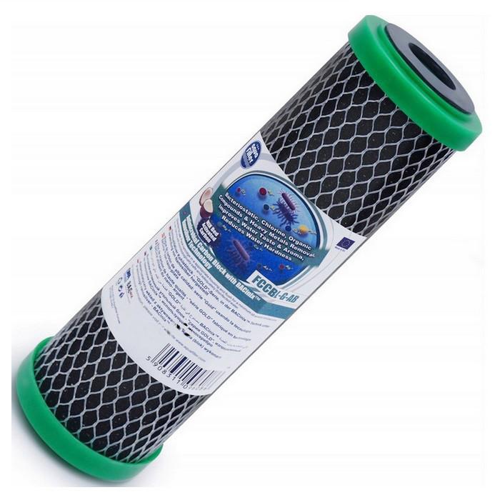 Угольный блок серия Bacinix с пресованого угля Aquafilter FCCBL-G-AB