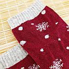 Носки женские махровые новогодние высокие Добра Пара 23-25р олень ассорти 20038984, фото 4