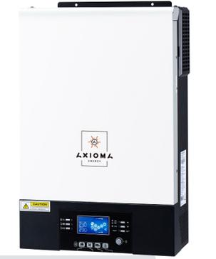 Гибридный инвертор ИБП 5000Вт, 48В + МППТ на 5кВт, ISMPPT BFP 5000 (Battery Free+Parallel), AXIOMA energy, фото 2