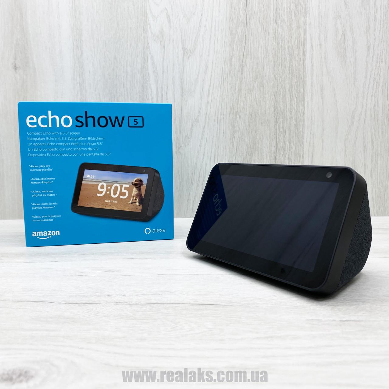 Умная колонка Amazon Echo Show 5 (Black)