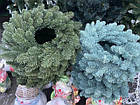 Литой Венок рождественский 40 см декоративный, фото 6
