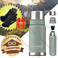 Термос 1,2 л с пожизненной гарантией для жидкости Термос Ranger Expert 1,2 л оливковый
