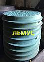Люк полимерпесчаный зеленый  нагрузка до 4,5т без запорного устройства, фото 3