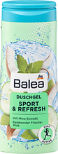 Гель для душа BALEA Sport & Refresh 300мл