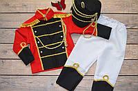 """Маскарадный костюм для мальчика """"Гусар"""" 3-4 года, карнавальные детские костюмы, фото 1"""