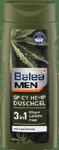 Гель для душа BALEA Men 3 in1Spicy Hemp 300мл