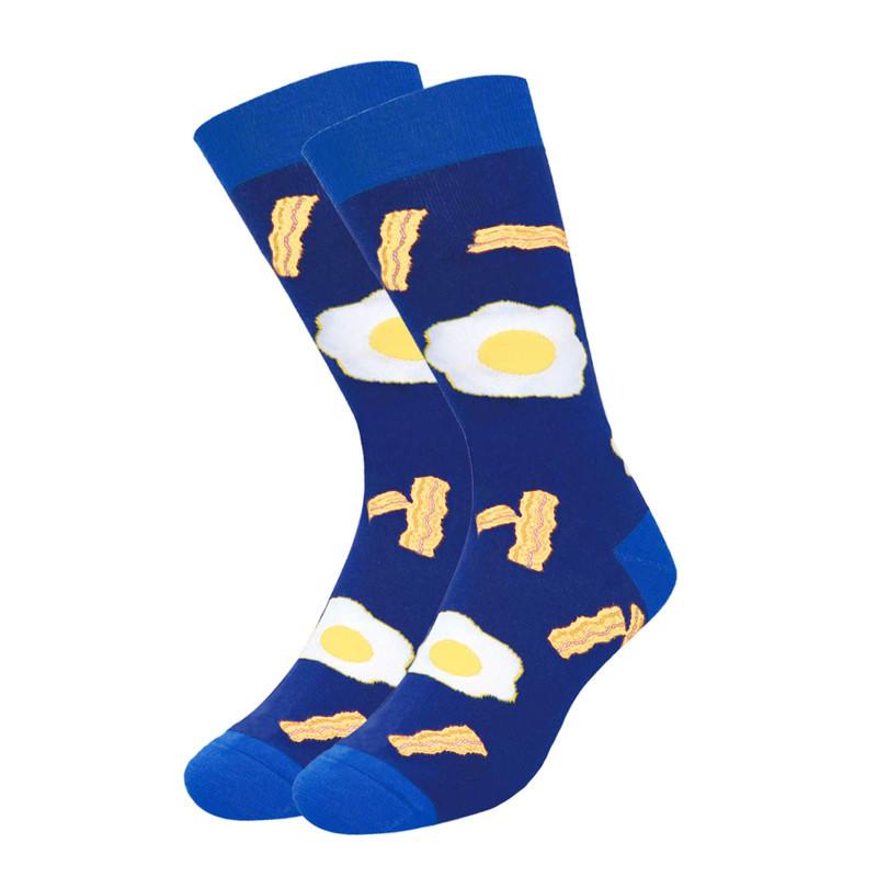 Шкарпетки Friendly Socks з написом на стопі BRING ME SOME BACON