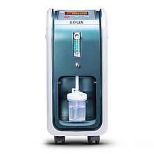 Кислородный концентратор 5л мин OXYGEN 1-5L генератор / кислород кисню / аппарат для кислорода, фото 2