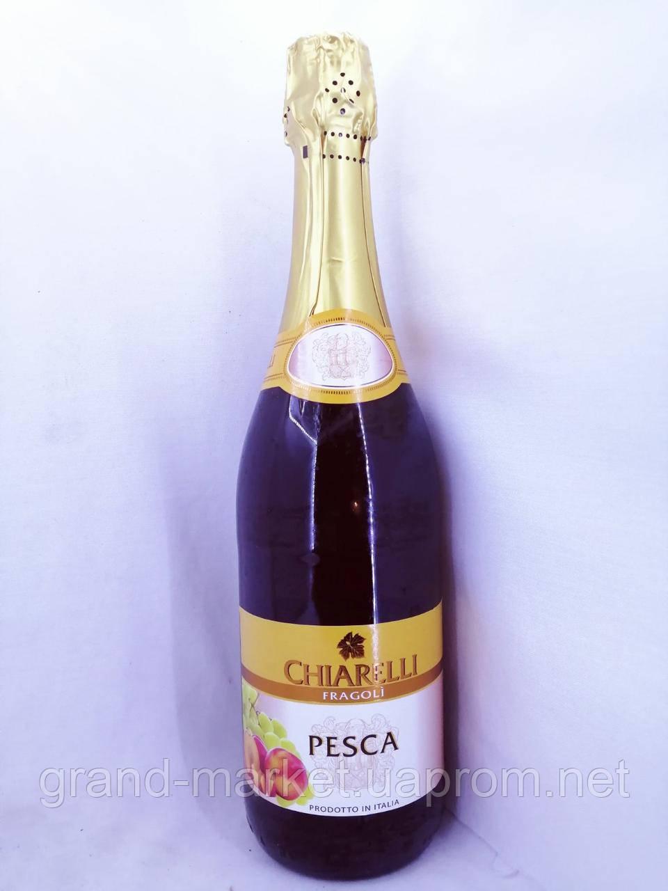 Вино ігристе біле напівсолодке Fragolino Chiarelli pesca 0.75 л