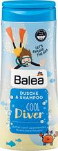 Детский шампунь -гель  Balea  Kids  Cool Diver 300мл