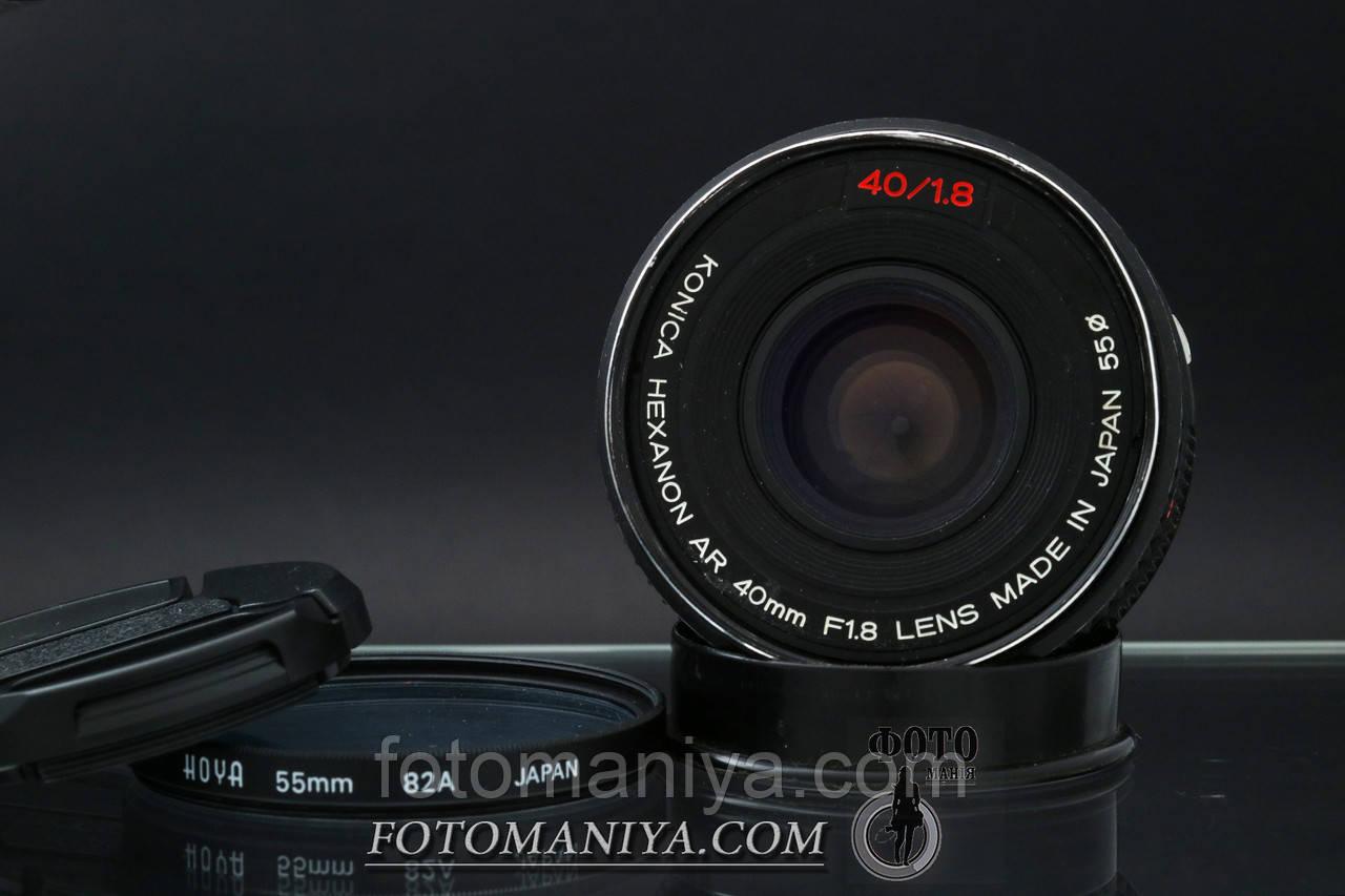 Konica Hexanon AR 40mm f1.8