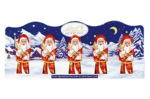 Шоколадные фигурки Lindt Mini Santa 5s 50 g