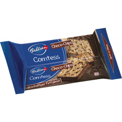 Рулет Bahlsen Comtess Choco Chips 350 g