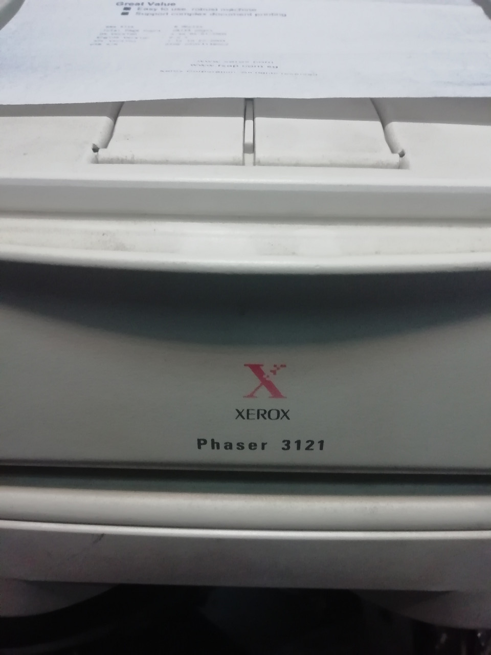 Принтер xerox phaser 3121 на запчастини