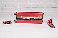 Преобразователь тока powerone plus (AC/DC Инвертор 2000W 12 V с вольтметром), фото 5