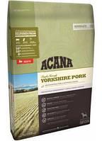 Сухой корм Acana Yorkshire Pork 6 кг для собак с чувствительным пищеварением всех пород и возрастов (свинина)