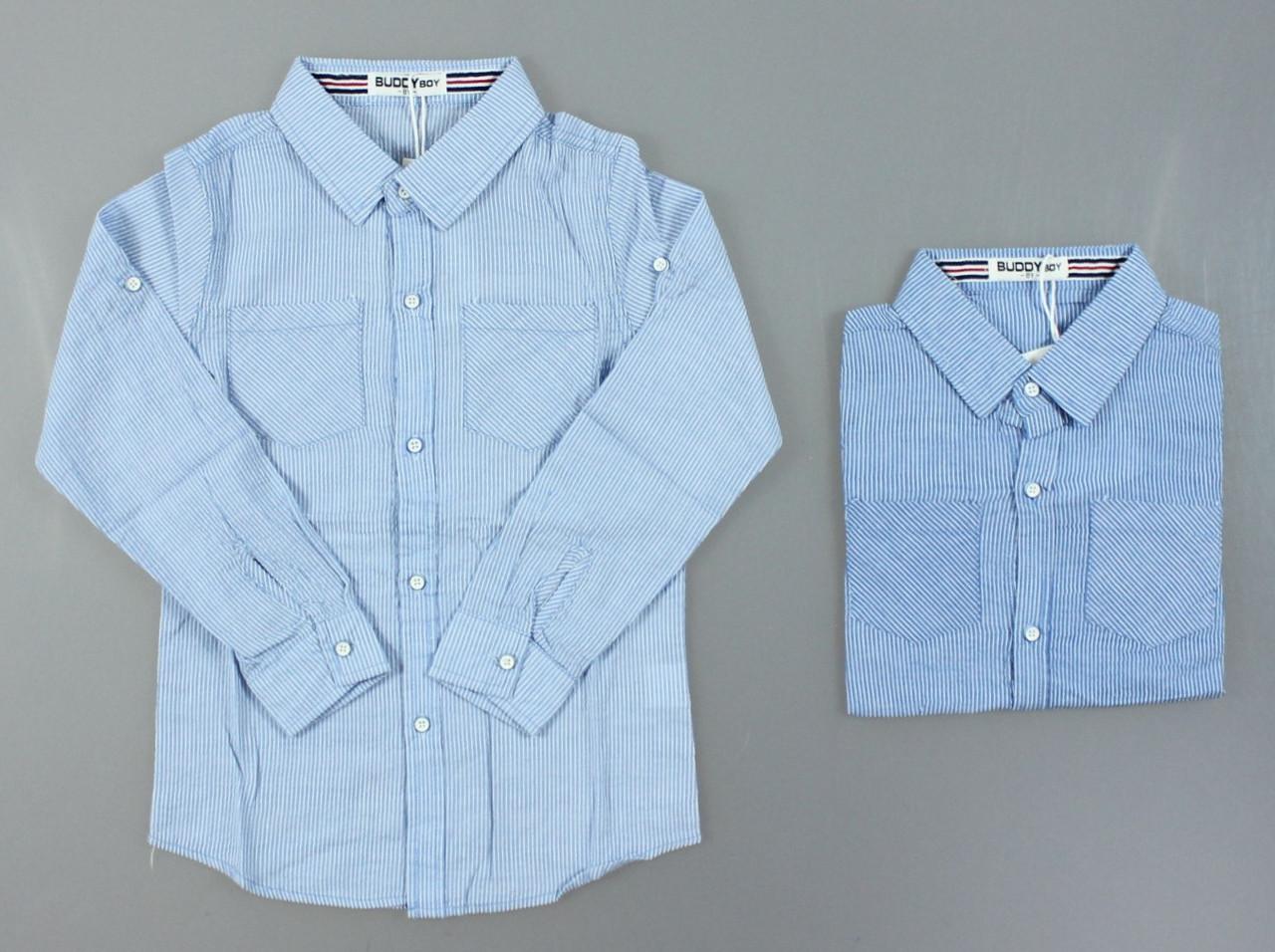 {есть:10 лет,12 лет,14 лет,16 лет,8 лет} Рубашка для мальчиков Buddy Boy, Артикул: 5736 [10 лет]