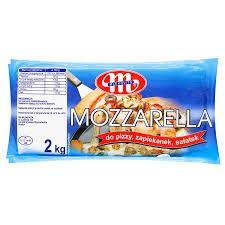 Сир до піци MOZZARELLA DO PIZZY  Mlekovita 2 кг