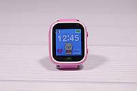 Детские умные часы Smart Watch Q60 (смарт часы с GPS + родительский контроль + фонарь) розовые, фото 7