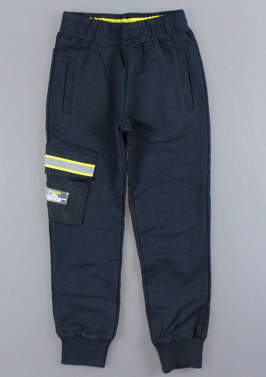 {есть:8 лет} Спортивные брюки для мальчиков F&D, Артикул: WX2628-т.синий [8 лет]