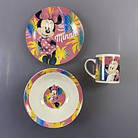 {есть:Один размер} Набор детской посуды Disney. Артикул: 60989 [Один размер]