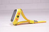 Детские умные часы Smart Watch Q60 (смарт часы с GPS + родительский контроль + фонарь) жёлтые, фото 6