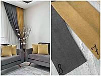Готовые плотные двойные шторы на окна в спальню,залу микровельвет (цвета в ассортименте), фото 1