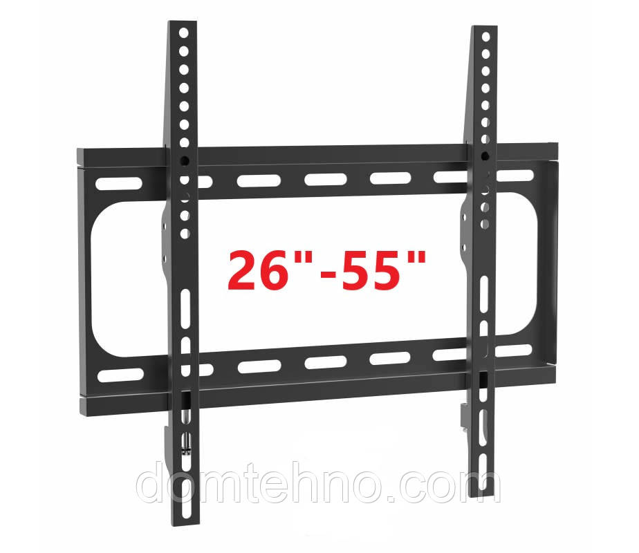 """Ультраплоске настінне кріплення для РК-телевізорів Plazma 26 """"- 55"""""""
