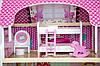 Кукольный домик игровой AVKO Вилла Верона + LED подсветка + 2 куклы, фото 5