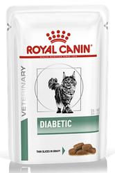 Royal Canin (Роял Канін) DIABETIC CAT Pouches для кішок страждаючих цукровим діабетом, 85 г